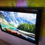Project: hufterproof textiel LED frame