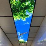 Wantix LED | Prolutix Textiel LED fotoplafond - wolkenplafond
