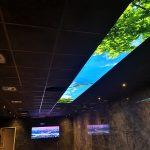 Prolutix textiel LED wolkenplafond - fotoplafond
