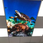 Prolutix Textiel LED fotoplafond