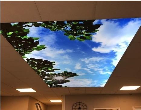 Afbeelding plafond